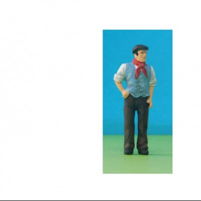 - 'Uniforms' & Occupations - 48/A104 Canalman wearing waistcoat