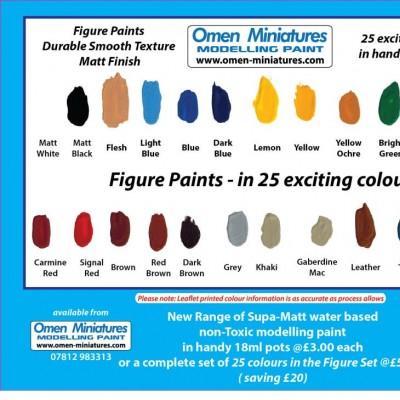 - Scenic/Figure Paint - A Figure Set 25