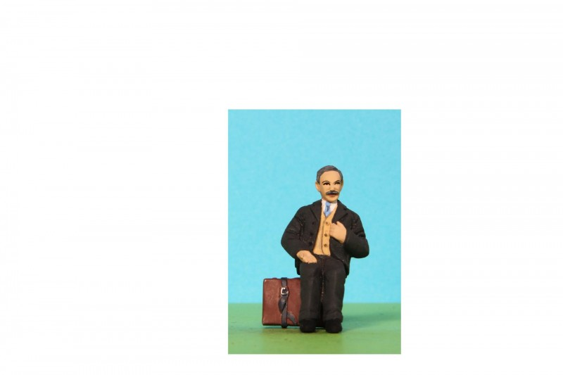 -  - 48/A212 Sitting Man with moustache