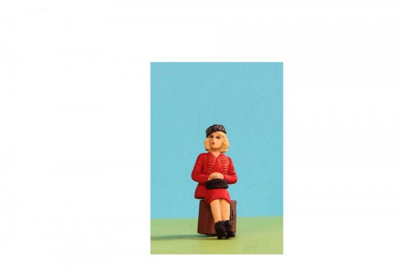 -  - G1A082 Sitting Woman