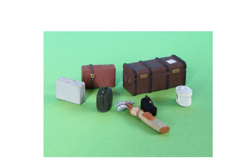 -  - G1B1 Luggage set with golf clubs